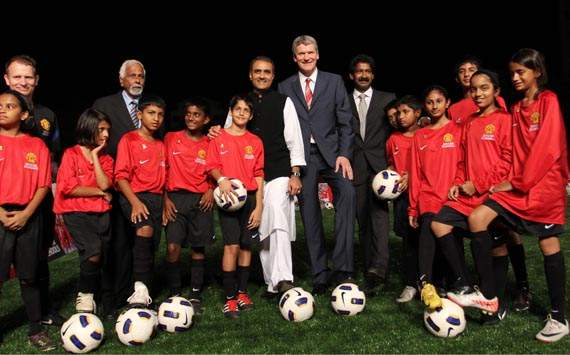 WIFA launches the Man United Soccer Schools at the Cooperage