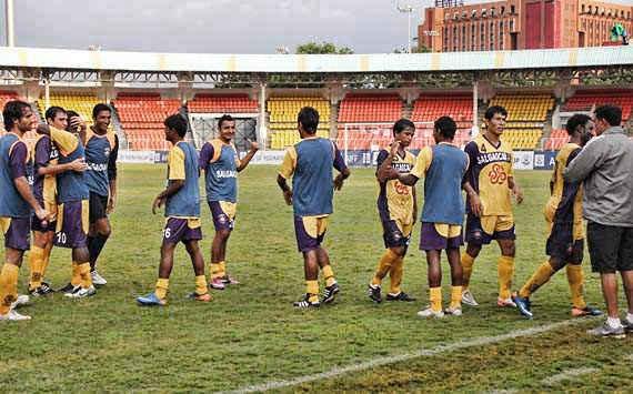 Salgaocar SC get ready to face Chirag United Kerala