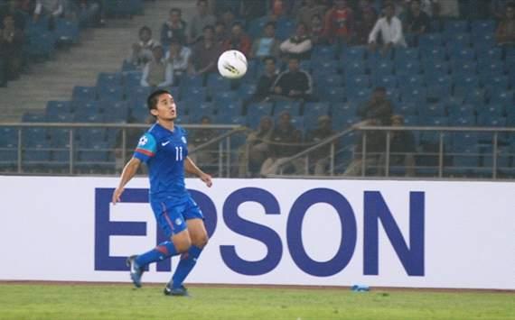 Sunil Chhetri is AIFF Player of the Year