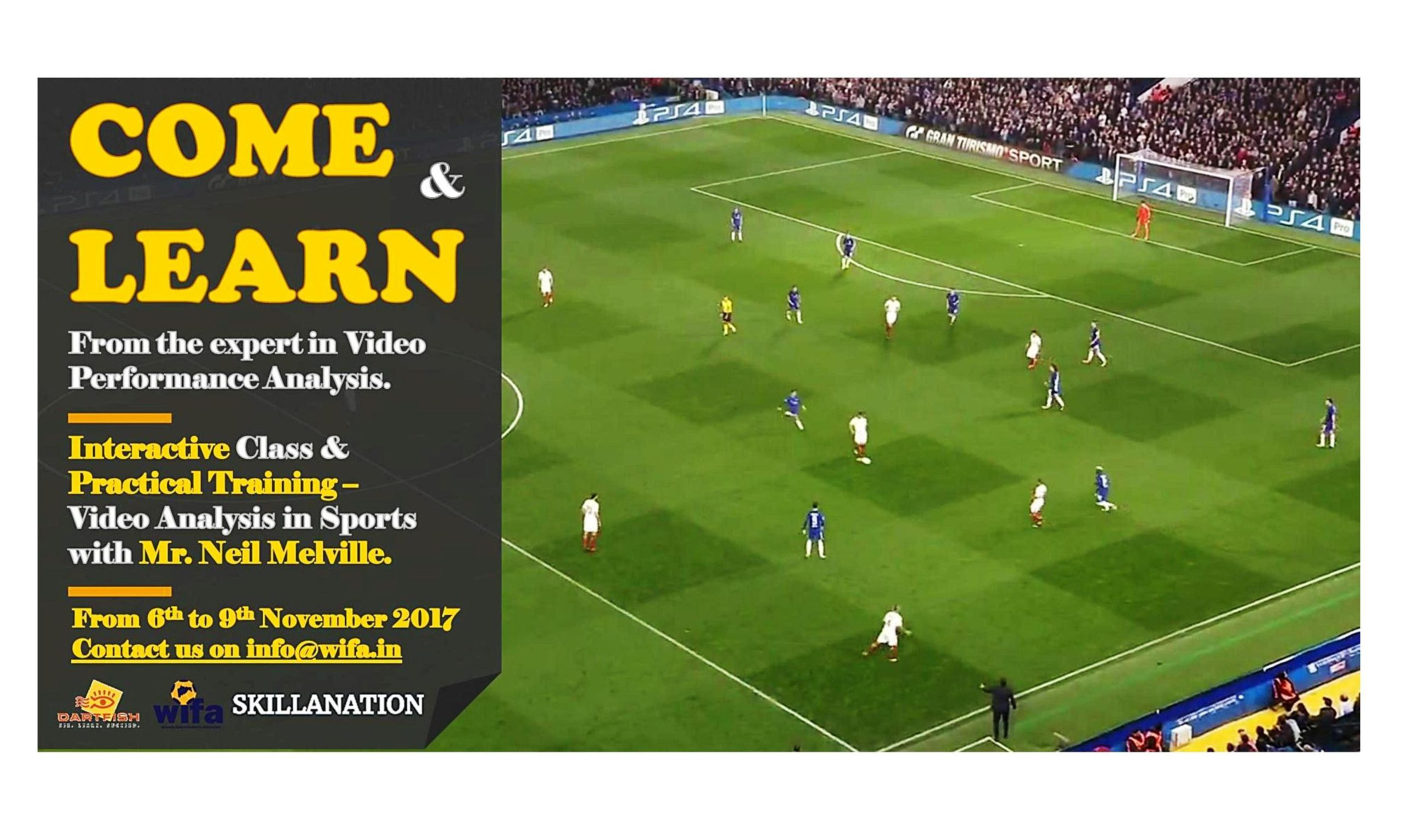 WIFA's 1st PERFORMANCE VIDEO ANALYSIS CERTIFICATION COURSE