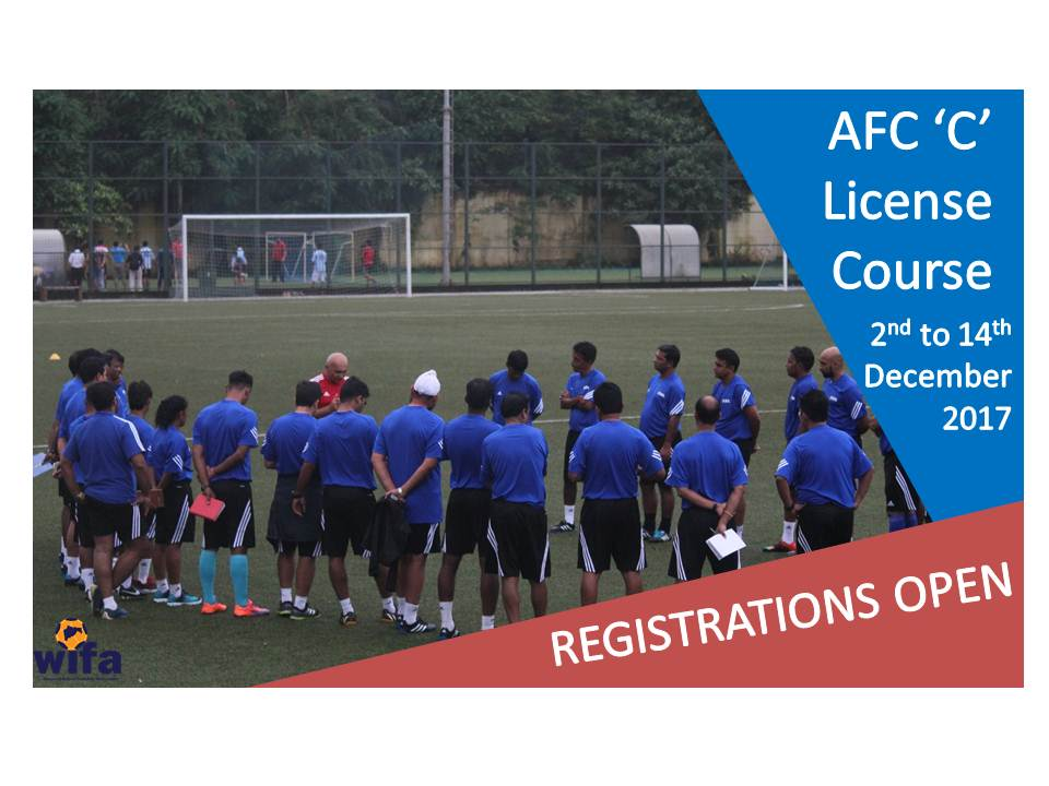AFC C License, Maharashtra (2nd to 14th December 2017) – POSTPONED
