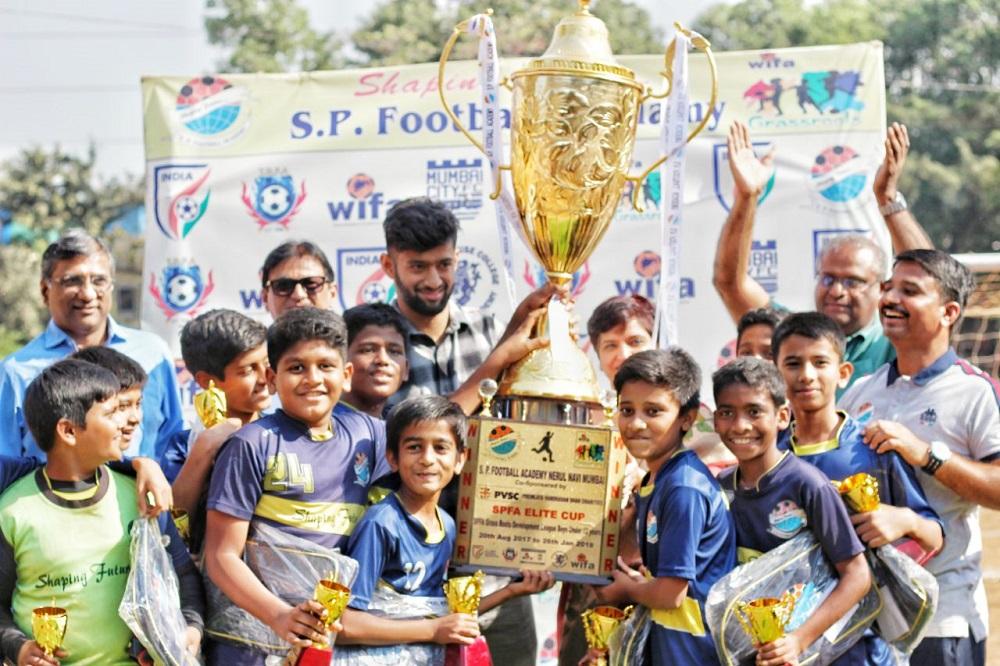 3rd S. P. Football Academy grassroots development league – boys under 12 years.