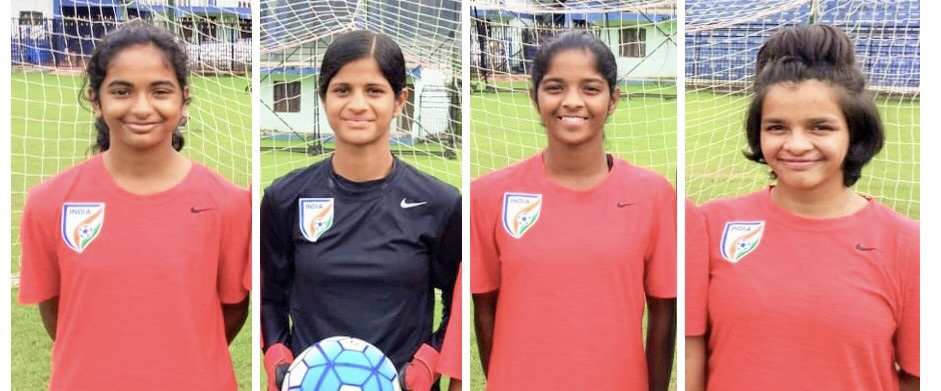 4 girls from Maharashtra selected to represent India