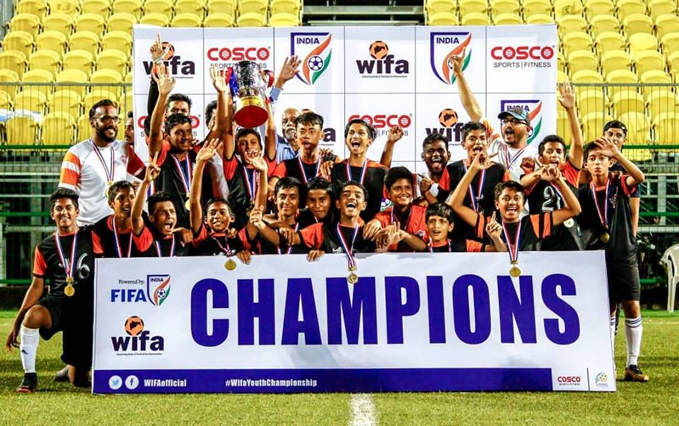 FC Pune City lifts WIFA Youth Championship U-14 title