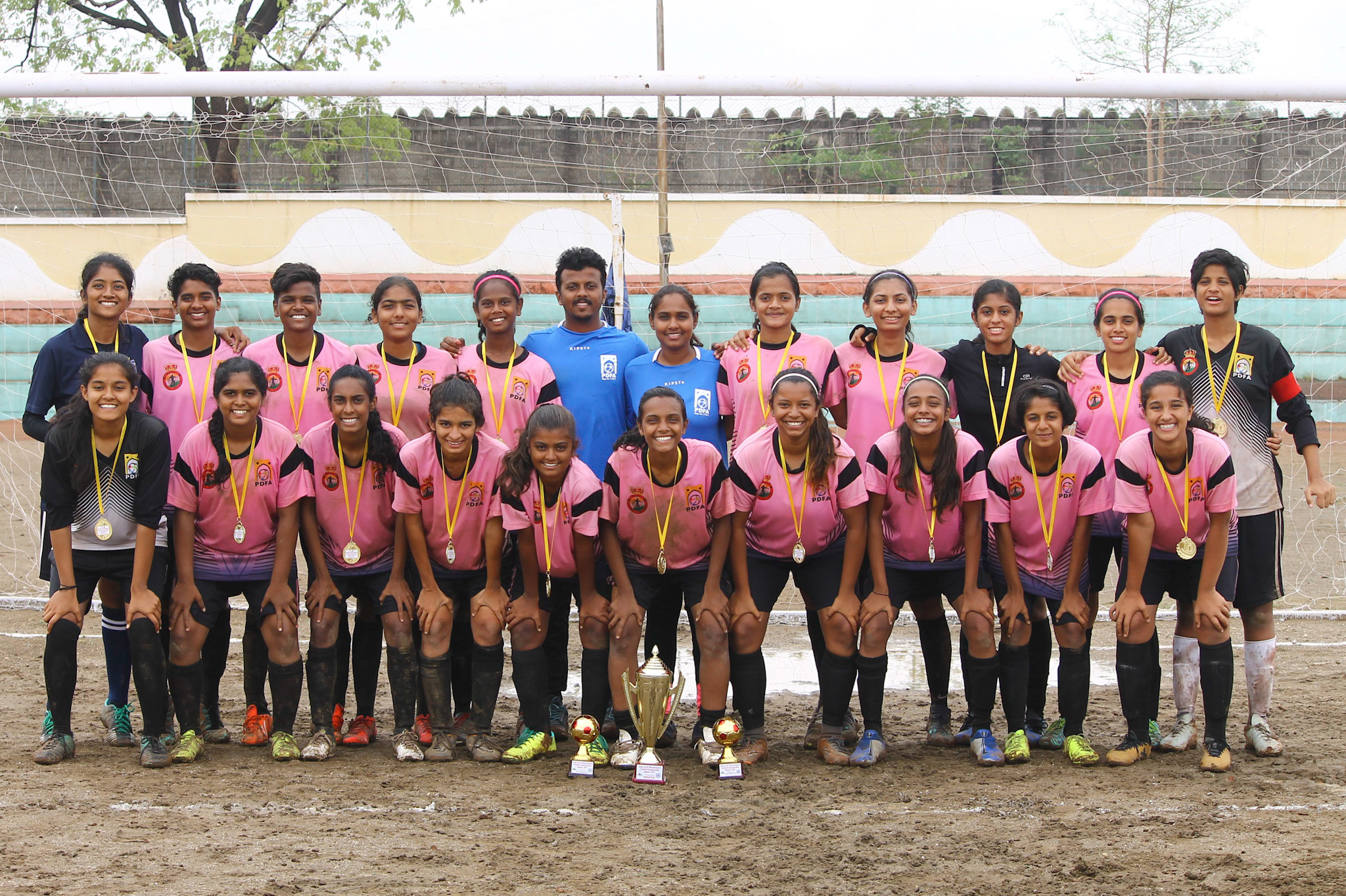 Pune crowned champions of WIFA Women's Inter District Football Tournament