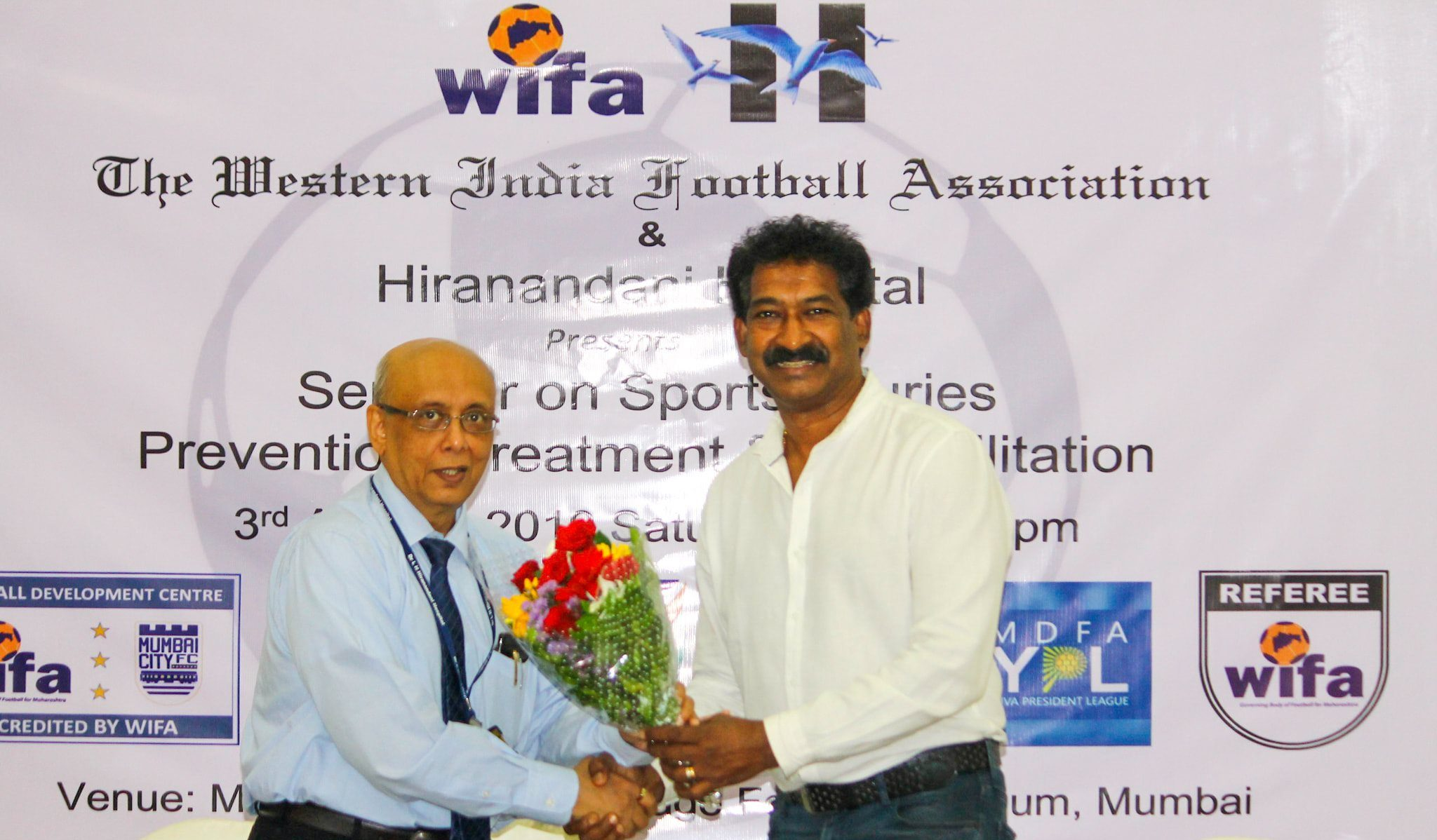 WIFA – Hiranandani Hospital alliance offers economical medical expenses for footballers