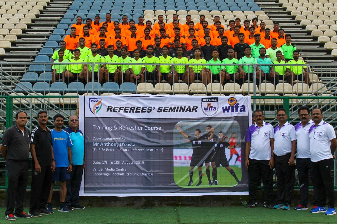 Referees seminar conducted by WIFA on 17th and 18th August
