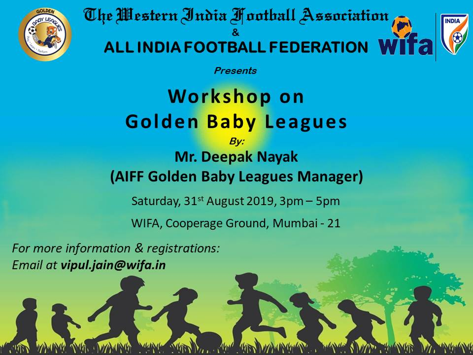 WIFA to conduct interactive workshop on Golden Baby Leagues