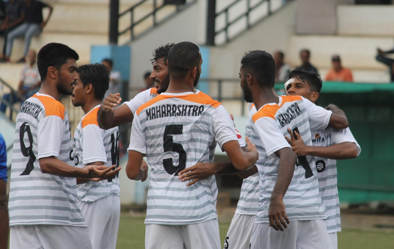 Maharashtra romp to 3 goal victory against Lakshadweep