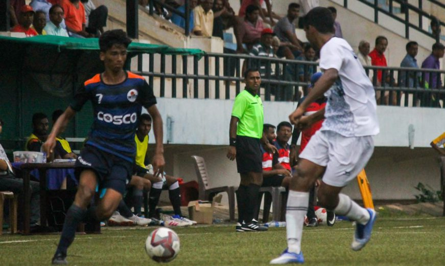 Services hold Maharashtra to qualify for final rounds of the Santosh Trophy