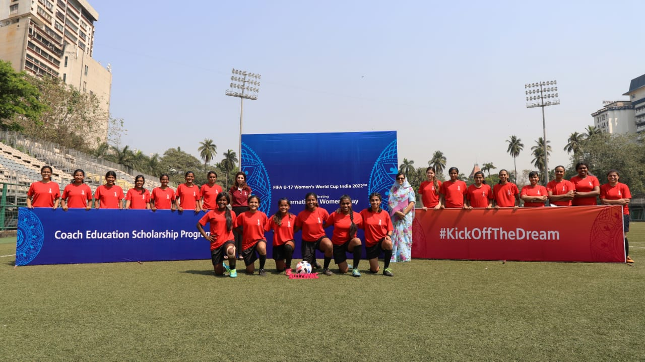 WIFA restart legacy activities for FIFA U-17 WWC on International Women's Day