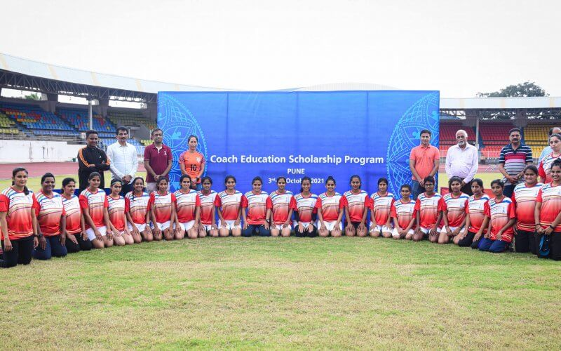 Pune Edition of Coach Education Scholarship Programme of The FIFA U-17 Women's World Cup India 2022 concludes at Shiv Chhatrapati Sports Complex